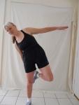 Leaning hopscotch
