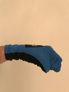 Chris glove fist